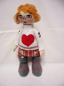 одежда для куклы из носочка