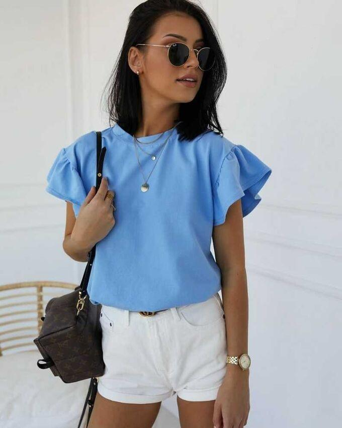 Блузка из ткани лайт