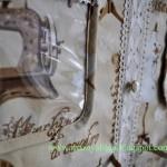 Настенное панно органайзер из ткани