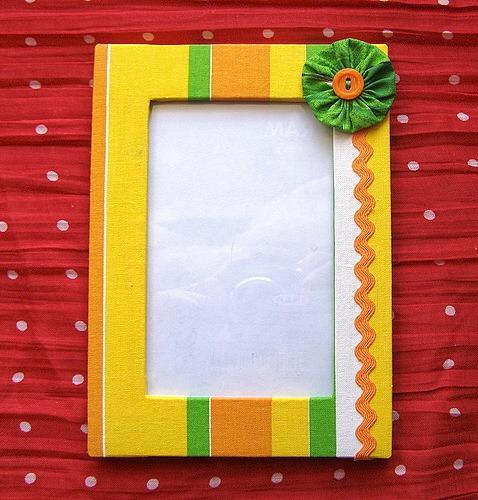 Текстильная рамка для фотографий