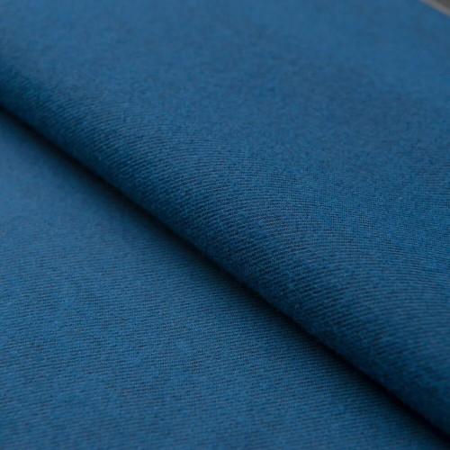 Синяя ткань твилл