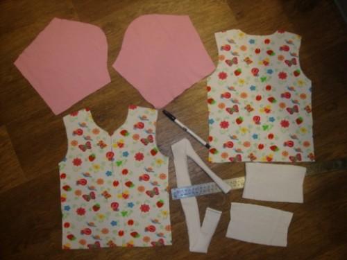 как шить кофту из трикотажа ребенку