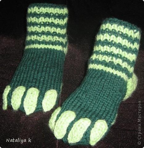 как связать носки на 5 спицах