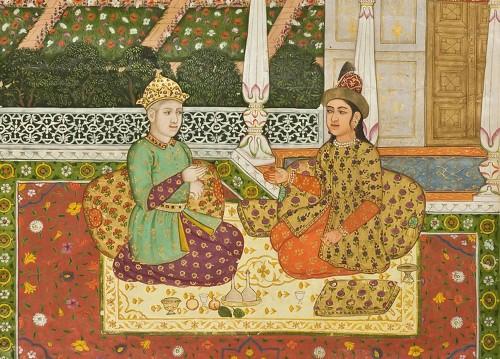 Средневековая Индия ткани